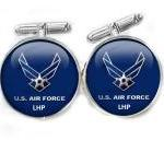 Blue Air Force Cufflinks pe..